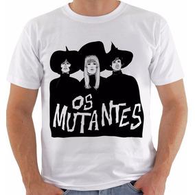 0004dc6fd Camiseta 2272 Os Mutantes Rock Arnaldo Sérgio Rita Lee Mod 7