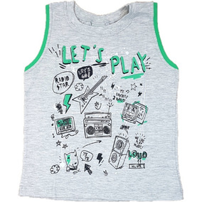 92dc37007 Regata Infantil Estilosa - Camisetas e Blusas no Mercado Livre Brasil