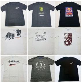 0cdcc6bbcd553 10 Camisetas Motocross Atacado Trilha Red Bull Crf 230 Fox