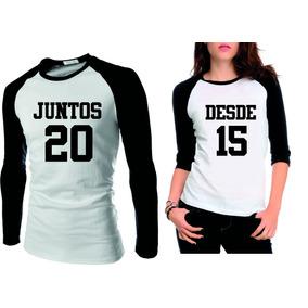 73cce9c8c Camiseta Namorado Usarem Junto - Camisetas Manga Curta no Mercado Livre  Brasil