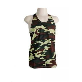 811e05b24eebb 2 Camisetas Regata Camuflada Masculina !