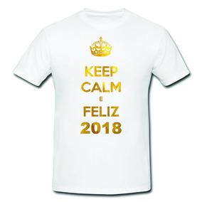 4dab4c5396005 Kit Camiseta Pai E Filho Reveillon Tamanho 4 - Camisetas Manga Curta ...