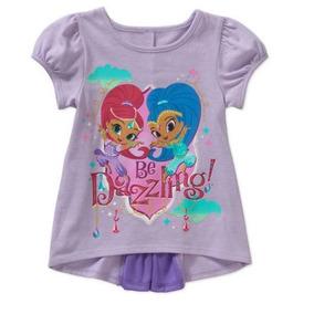 da5eec72b Shimmer And Shine Silhouette - Camisetas e Blusas no Mercado Livre ...