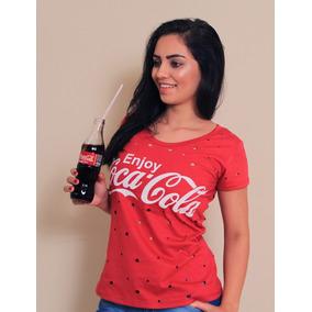 e1cb67565 Blusa Coca Cola Vermelha Feminina - Calçados, Roupas e Bolsas no ...