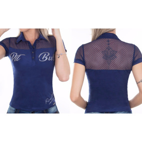 1e7f5f71f Camisa Polo Feminina Uniforme Personalizada - Camisetas e Blusas no ...