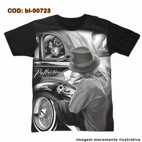 466b22a351bc6 Camiseta Catrina Mcd - Camisetas e Blusas Manga Curta para Masculino ...