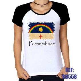 5580fedd6 Baby Look Bandeira Pernambuco - Camisetas e Blusas no Mercado Livre ...
