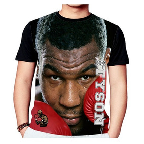 4a453a6c7 Camisa Camiseta Mike Tyson Boxe 1061