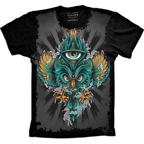 83de845a7 Camiseta Estampa De Coruja - Calçados