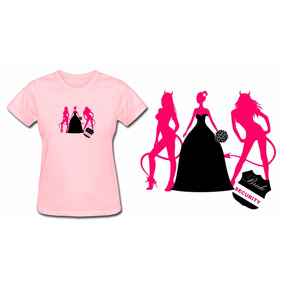 0eeeb1f59 Camiseta Despedida De Solteira - Camisetas Manga Curta no Mercado ...