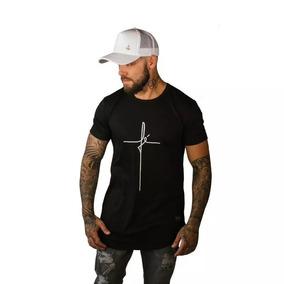 5829f6064 Camisa Fé - Camisetas para Masculino no Mercado Livre Brasil
