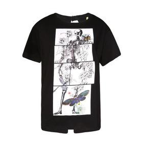 6f72618c0 Camiseta Caveira Feminina - Camisetas para Feminino no Mercado Livre ...