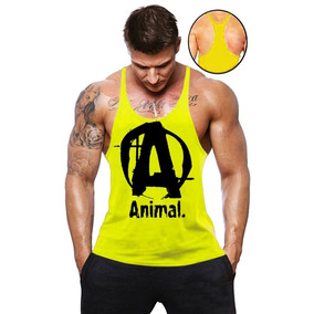 405d06d57d9bc Regata Cavada Animal - Camisetas e Blusas no Mercado Livre Brasil