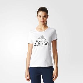 6cdcd6435ca21 Camiseta adidas Foil Logo Branco Feminina - P - Branco