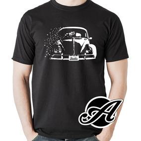 d0b065cac Camiseta Fusca Ratlook Beetle Aircooled Carros Antigos