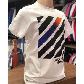 9bb61e192603e Camiseta Lacoste Sport Tamanho T5 100% Original