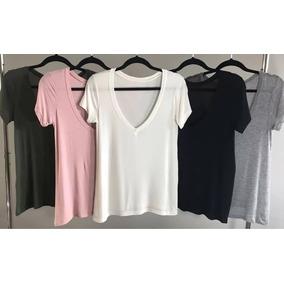 82931ce9b Camiseta Malwee Basica Feminina - Camisetas e Blusas para Feminino ...