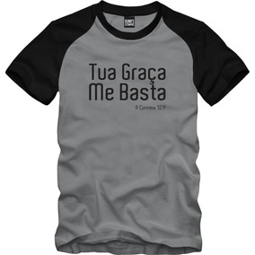 8f571c7aae671 Camiseta Camizeta Cristã Mensagem Positiva Tamanho G - Camisetas Manga  Curta no Mercado Livre Brasil