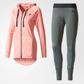 351a61c00a3 Agasalho Adidas Feminino Cinza Com Rosa - Calçados