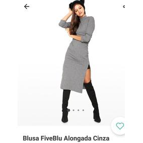 ca2a2bc5c4 Blusa Five Blu no Mercado Livre Brasil