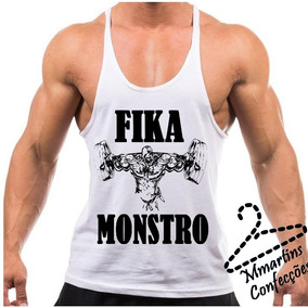 b062f058d0fbd Camiseta Regata Tank Top Super Cavada Fik Monstro Exclusiva