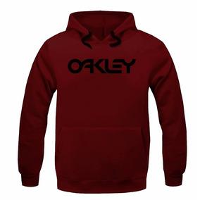 73480aa320747 Blusa Moletom Frio Oakley Letras Feminino Frio Promoção