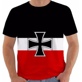 5d7ec6e7a99cf Camiseta Bandeira Alemanha - Camisetas e Blusas no Mercado Livre Brasil