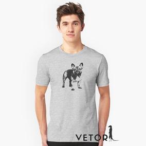 6fc235a62 Camisa Bulldog Frances Masculino no Mercado Livre Brasil