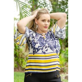 7ed8642605eaf Kit Blusa Em Viscose - Blusas Feminino no Mercado Livre Brasil