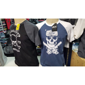 47dd21596952f Kit Com 5 Camisetas Masculinas Oakley Original - Calçados