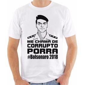 8c31999f4672e Camiseta Bolsonaro Honra no Mercado Livre Brasil