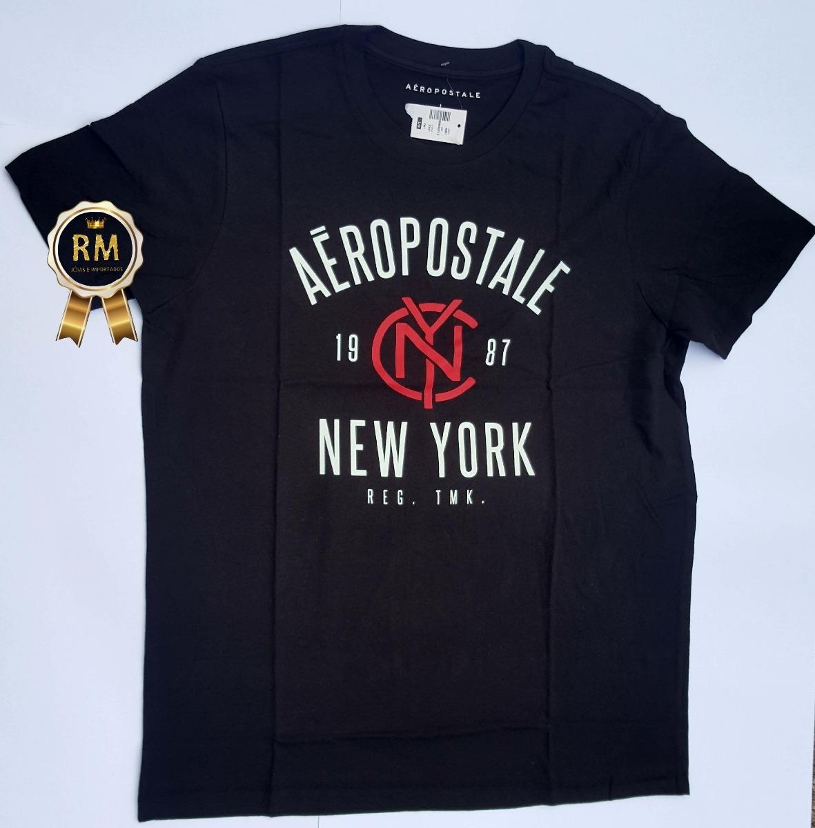 a59a01ef58af0 camisetas blusas aeropostale 100% original pronta entrega ! Carregando zoom.