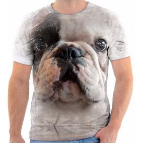2306cd25b Bulldog Francês Camiseta - Cachorros no Mercado Livre Brasil
