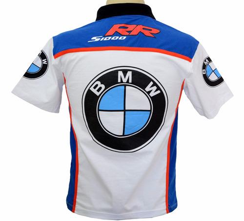 camisetas camisas esportiva gola polo moto bmw srr1000