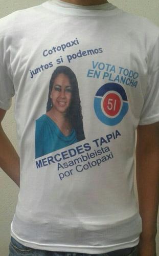 camisetas campaña publicidad economicas