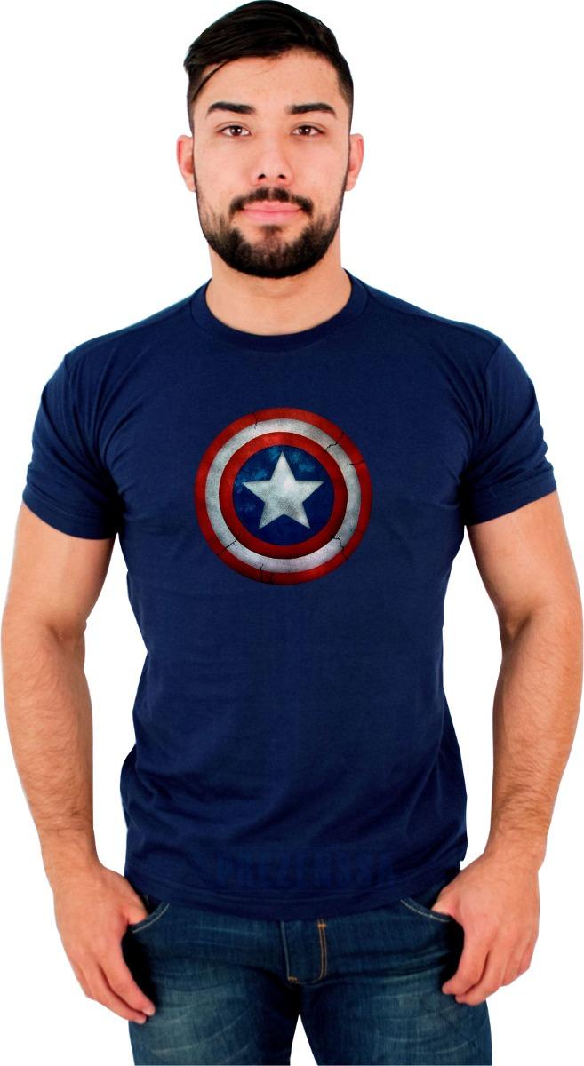 63cf0b49c camisetas - capitão américa - super heróis - use pinguim. Carregando zoom.