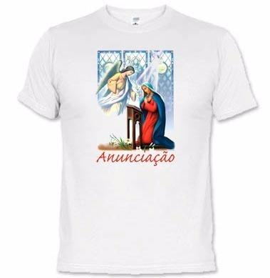 camisetas católicas anunciação