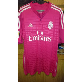 0ef59681ecc77 Camiseta Real Madrid Rosa - Camisetas de Clubes Extranjeros Real ...