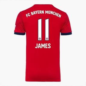 74047e58c362a Camiseta Bayern Munich James - Camiseta del Bayern Munich para Hombre en Mercado  Libre Colombia