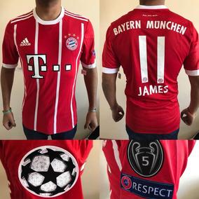 bcd8463a20380 Camiseta Adidas Bayern Munich 2017 2018 - Deportes y Fitness en Mercado  Libre Argentina