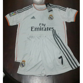 76e3eb6532150 Camiseta Real Madrid Y Short Cristiano Ronaldo Para Niños ...