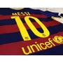 Camiseta Barcelona 2015 2016 Nike Messi, Neymar,suarez,y Mas