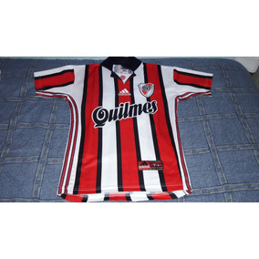 aa77d3cedd3f9 Camiseta Alternativa Tricolor Retro River - Camisetas de Clubes ...