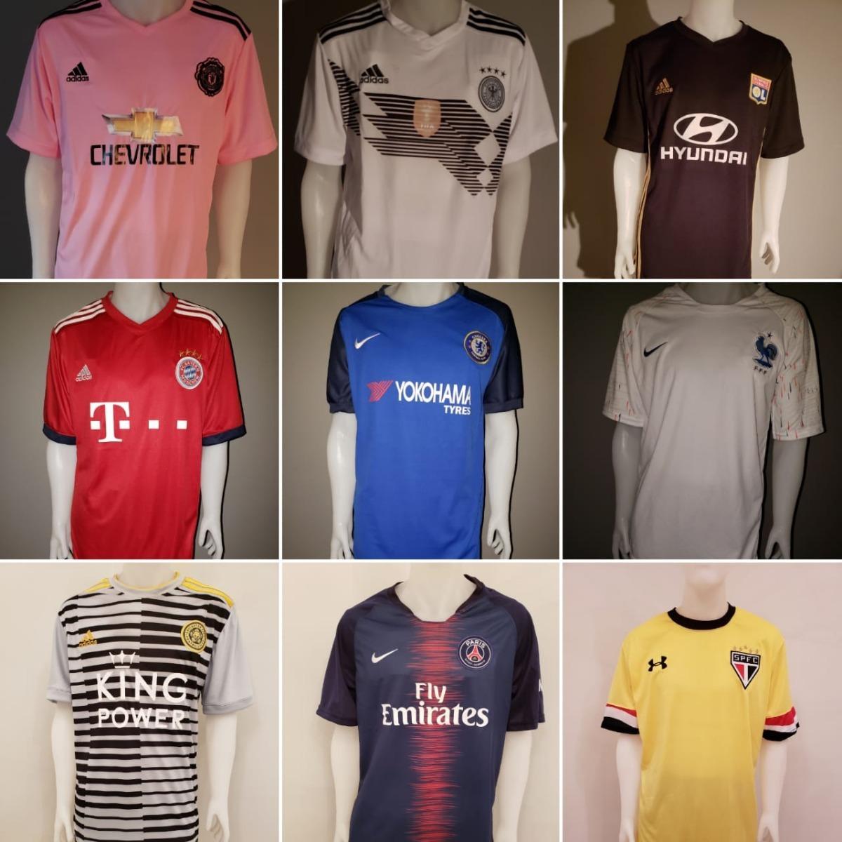 98934ac991290 camisetas con numero para equipos de futbol excelentes. Cargando zoom.