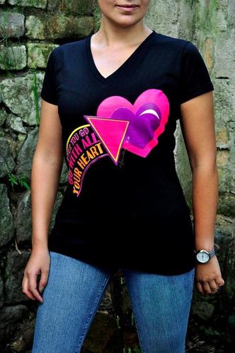camisetas de algodón americano para mujer.