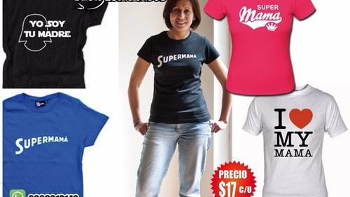 camisetas de dia madre