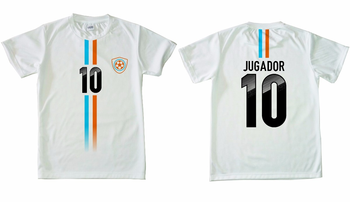 b3ee8f1477f51 Camisetas De Fútbol Amateur Sublimadas Personalizadas X 20 -   4.780 ...
