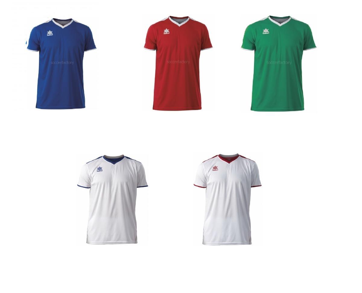 9a3cc71c56ec2 Camisetas De Fútbol Marca Luanvi Mod. Match