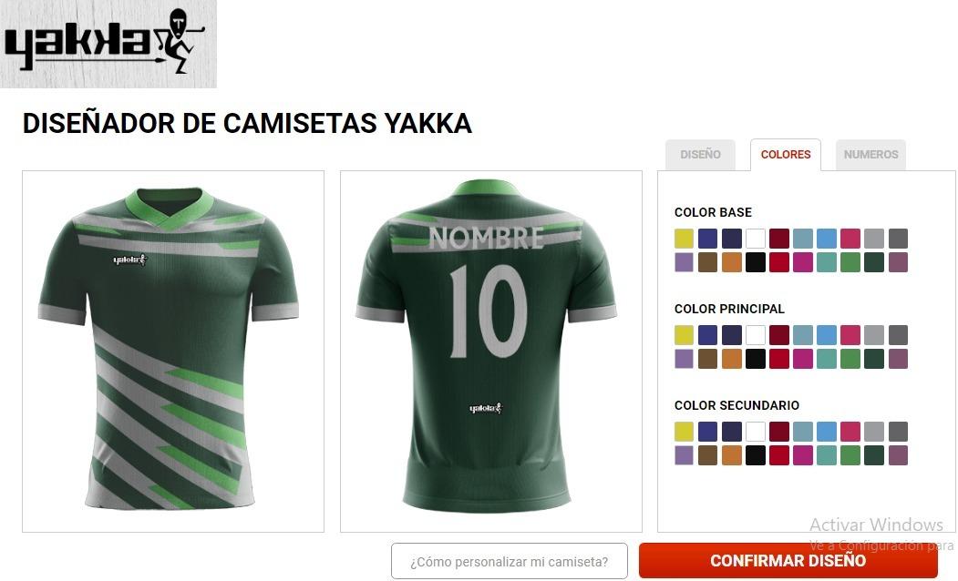 camisetas de futbol para tu equipo personalizadas yakka. Cargando zoom. 06a3bcc672120