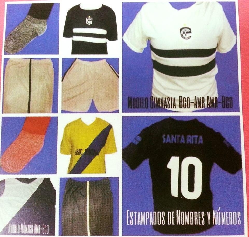cf2235676af0a Camisetas De Futbol + Short + Medias (numeros De Regalo) !!! -   268 ...